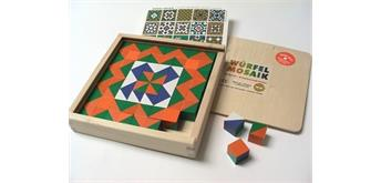 Würfelmosaik, 64 Würfel Komplementärfarben/Art. 525