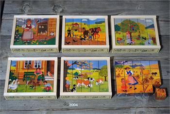 Würfelpuzzle 20-teilig