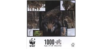 WWF 1000-Puzzle Wolf