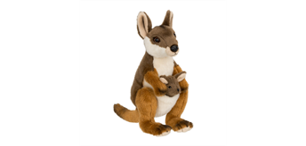 WWF Wallaby mit Baby 19 cm