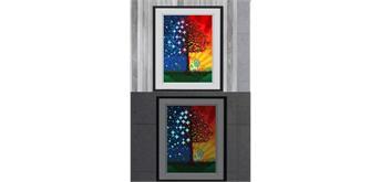 YGSM34 Diamond Painting Full Set Glow In the Dark 25 x 35 cm